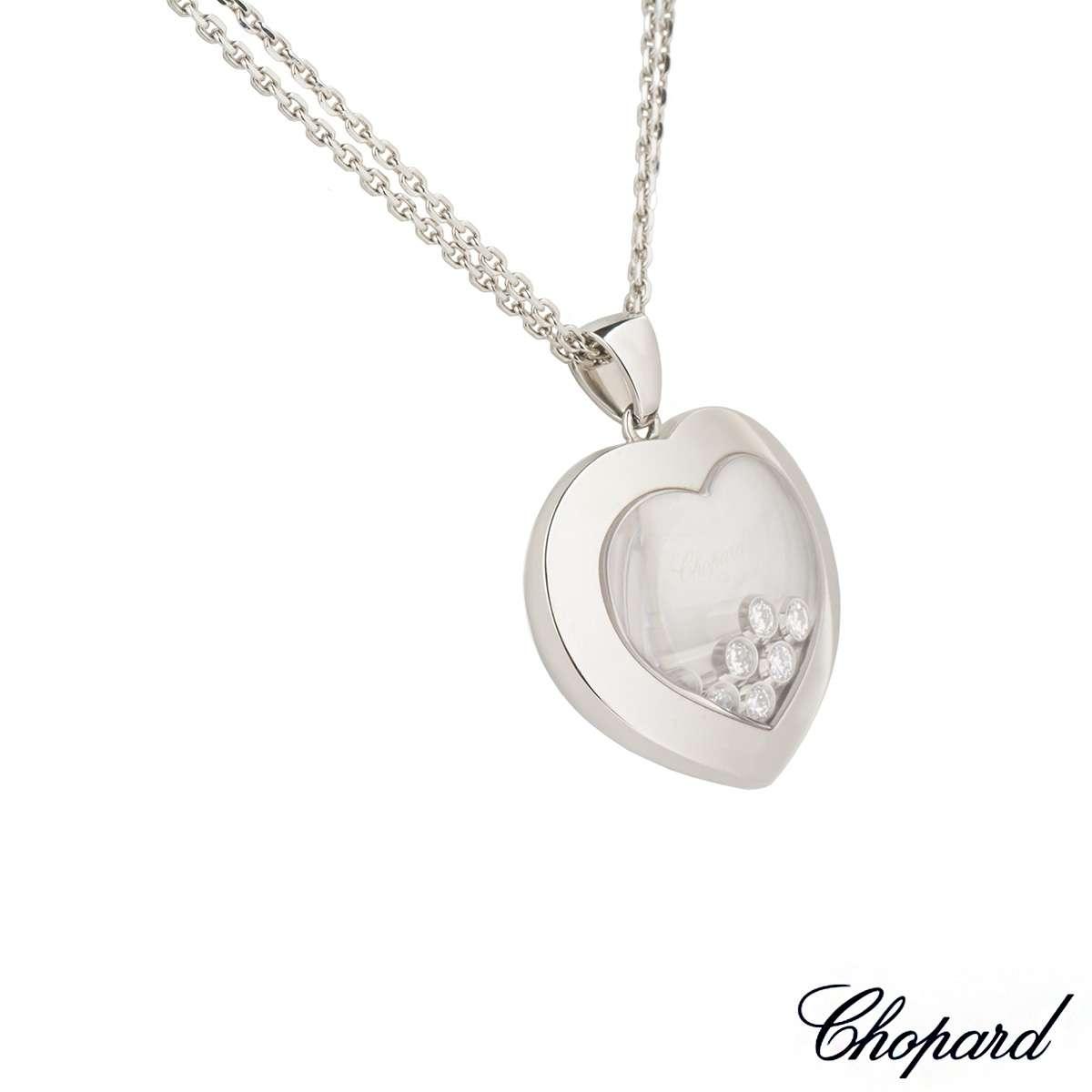 Chopard happy diamonds pendant rich diamonds of bond street chopard happy diamonds pendant aloadofball Images
